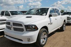 2016 RAM 1500 SPORT..........0% FOR 84 MONTHS, UNTIL JAN 31ST !!