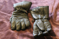 Motorcycle cold weather gloves