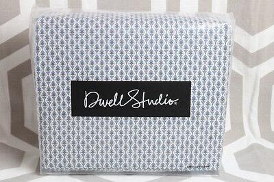 NIP Dwell Studio Dwellstudio Savile Marine King Sheet Set $199