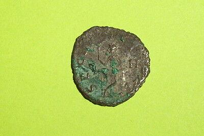 Ancient ROMAN COIN securitas GALLIENUS 253 AD-268 AD column old treasure silver