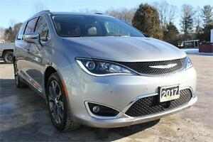 2017 Chrysler Pacifica Limited PLATINUM EDITION! Dual DVDs