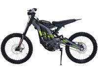 SUR RON LBX 2021 ELECTRIC DIRT BIKE AVAILABLE TO ORDER NOW AT CRAIGS MOTORCYCLES