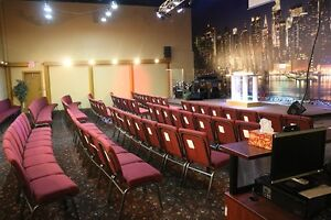 Hall for rent- church and events