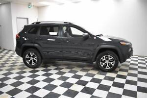 2016 Jeep Cherokee Trailhawk-LEATHER * UCONNECT * BACKUP CAM