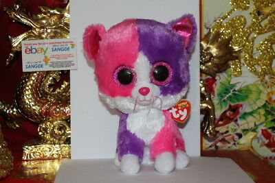 "TY BEANIE BOOS PELLIE THE CAT.MEDIUM.9"".CLAIRE'S EXCLUSIVE.2015.MWNMT.NICE GIFT"