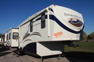 2011 K-Z Stoneridge 36RE Fifth Wheel