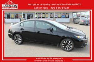 2013 Honda Civic Sdn EX loaded low kms & priced right