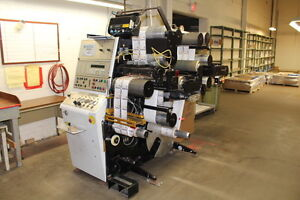 Online onsite auction of complete printing facility