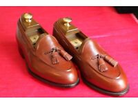 "Church's ""Kipling"" Loafers Size 8 - Chestnut Tan - New"