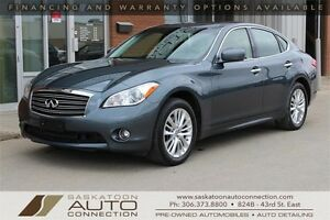 2012 INFINITI M37x AWD w/ PREMIUM PACKAGE & TECHNOLOGY PACKAGE