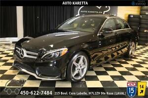 2016 MERCEDES C300 4MATIC SPORT AMG/NAVI/PANO/LED/CAM/MAGS
