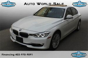 2014 BMW 328i xDrive|Brown int| Sunroof| Sport & Eco Pro modes