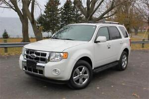 2012 Ford Escape Limited - 4x4| Low Low Kms| You're Approved!