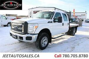 2012 Ford Super Duty F-350 SRW XL Crew Cab Flat Deck