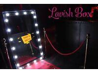 Magic Mirror photobooth hire £250