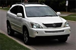 2007 Lexus RX400H Hybrid *LEATHER ROOF MAGS* PEARL WHITE 4WD