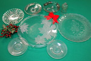 10  Beautiful Holiday/Christmas SERVING TRAYS -- EXTREMELY CHEAP