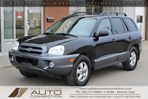 2006 Hyundai Santa Fe ** AWD ** LEATHER ** MOONROOF ** LOW KM **