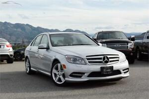 2011 Mercedes-Benz C-Class C 300 AWD w/Navi/Sunroof/Memory Seats