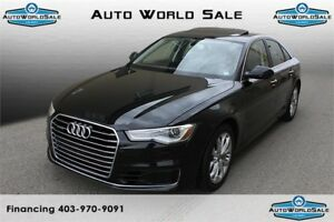 2016 AUDI A6| LOW kms| Front & Rear Sensors|Navi| Memory Seats