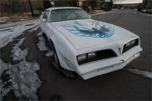 1976 Pontiac Trans Am **REAL 455 4 SPEED CAR** With Paperwork