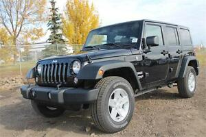 2016 JEEP WRANGLER SPORT LEATHER 15% OFF MSRP $44700 UNTIL JAN16