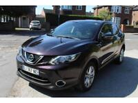 LHD 2014 Nissan Qashqai 1.6 DCI Pure Drive 5 Door FRENCH REGISTERED