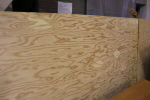 """NEW -- 1/2"""" Fir Plywood sheet - sanded one side ---- HALF PRICE"""