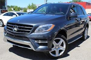 2015 MERCEDES ML350 BLUETEC AWD NAVIGATION, CAMERA 360, XENON