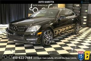2013 MERCEDES C350 COUPE 4MATIC SPORT AMG/NAVI/XENON/PANORAMIC