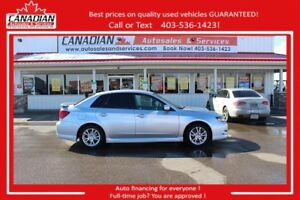 2008 Subaru Impreza WRX 2 SETS TIRES/RIMS AWD LOW KM'S!!!!