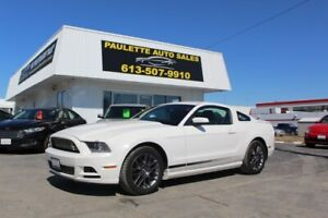 2013 Ford Mustang - LOW KMS - VISIT US TODAY - PAULETTEAUTO.COM