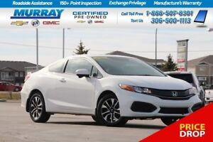 2014 Honda Civic EX FWD *SUNROOF,REAR CAMERA,REMOTE START*