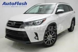 2017 Toyota Highlander XLE-SE *Cuir/Leather *GPS/Camera *Toit-Ro