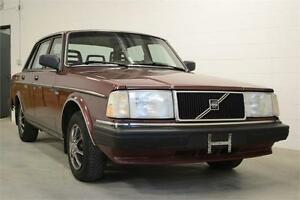 1989 Volvo 240,mint,original kms,unbelievably mint condition!