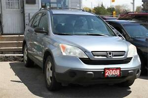 2008 Honda CRV 4WD *ACCIDENT FREE* Roof Rack Aux BLUE !!!!