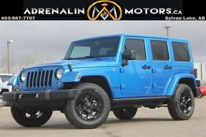 2015 Jeep Wrangler Unlimited Sahara ALTITUDE EDITION!!