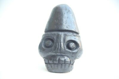 Nations Music Aztec Death Whistle black clay produces most frightening sound!!
