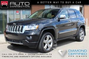 2012 Jeep Grand Cherokee OVERLAND 4x4 ** LUXURY LOADED **