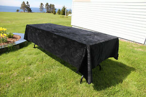 Black Velvet Cloth