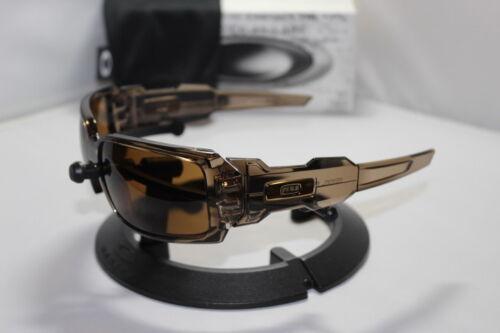 New Oakley Oil Drum I 1.0 Sunglasses Brown Smoke/Dark Bronze 30-674