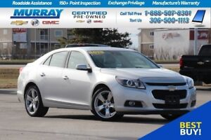 2015 Chevrolet Malibu LTZ *REMOTE START,SUNROOF,HEATED SEATS*