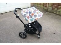 Bugaboo Cameleon 2 with Andy Warhol Hood