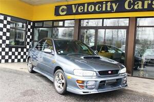 2000 Subaru WRX STi-6 139 K's AWD Turbo 276hp Manual