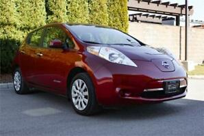2015 Nissan Leaf S w/Quick Charge/One Owner/No Accidents