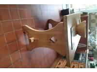 Pine kitchen table.