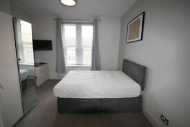 *NO AGENCY FEES TO TENANTS* Large, contemporary double bedroom with en-suite & off street parking