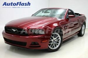 2014 Ford Mustang Premium V6 Convertible *Cuir/Leather* Extra-Cl