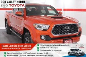 2018 Toyota Tacoma Toyota Canada Demo TRD SPORT PACKAGE