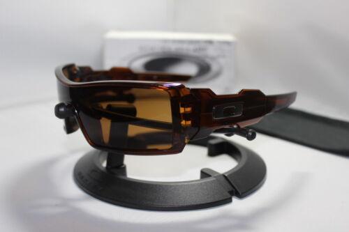 New Oakley Oil Rig I 1.0 Sunglasses Rootbeer/Bronze 30-681